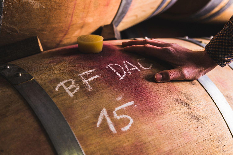 Blaufränkisch Leithaberg DAC Weinfass - Weingut Kirchknopf
