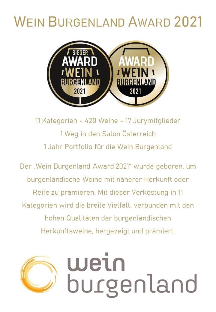 Wein Burgenland Award 2021 - Infos